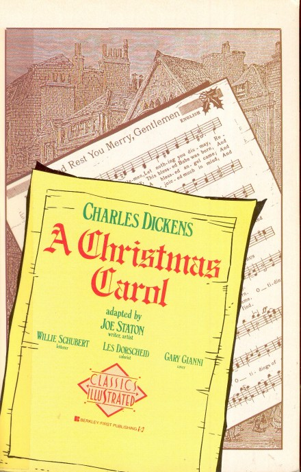 Charles Dickens - A Christmas Carol - adapted  by  Joe Staton