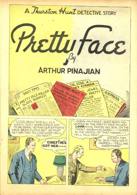 Pretty Face  by  Arthur Pinajian